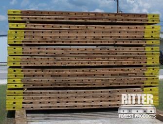 Crane Mats Hardwood Timber Crane Mats Ritter Forest Products